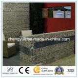 China Galvanized Welded Gabion Basket (fabricação)