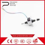 Motor impulsor linear de las nuevas corrientes eléctricas del enrollamiento