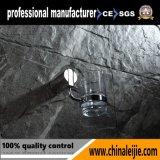 Suporte acessório do Tumbler do banheiro do aço 304 inoxidável único (LJ55006)