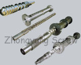 38CrMoAlA Nitrided Screw e Barrel para Rubber Machine