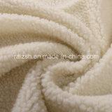 Veludo 100% morno da caxemira do poliéster para a matéria têxtil Home