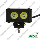 éclairage LED Bar, DEL Truck Lights, de 9~45V 20W éclairage LED 2*10W
