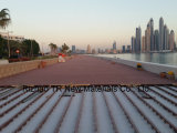Hölzerner zusammengesetzter Plastikdecking für Dubai