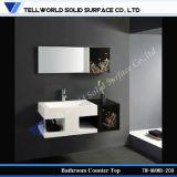 Parte superiore acrilica di vanità della stanza da bagno di disegno moderno