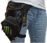 Esportes impermeáveis da motocicleta que dão um ciclo o saco do pé do bloco da cintura