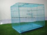 高品質の安い鉄の塀犬の犬小屋折る犬のケージ