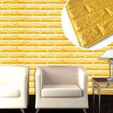 El panel de pared de la instalación/papel fáciles con el material de la espuma de la salud XPE
