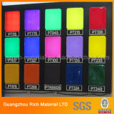 Hoja de acrílico del color para la iluminación/la hoja de acrílico plástica del plexiglás PMMA para hacer publicidad