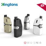 Nuovo vaporizzatore elettronico all'ingrosso dell'olio di Kingtons 050 della sigaretta in azione