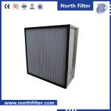 Filtro dell'aria in profondità pieghettato di alta efficienza del separatore del di alluminio