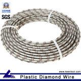 Granite Dressing를 위한 다이아몬드 Wire Saw