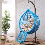 Cadeira de suspensão do ovo do Rattan barato popular da cadeira do balanço do Rattan do preço (D017A)