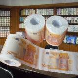 新型のトイレットペーパーの習慣によって印刷されるトイレットペーパー