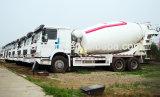 HOWO 6X4 + 10m3 구동 장치형 Zz1257n4048W 믹서 트럭