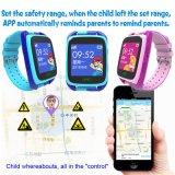 Neue Kinder GPS-Verfolger-Uhr mit PAS-Taste (Y15)