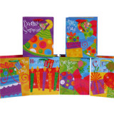 Baloon Birthday Paper Gift Bags mit Satin Ribbon Handle