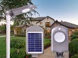 lumière extérieure solaire de 5W DEL avec le détecteur