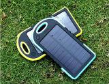 Doppel-USB-Solartelefon-Aufladeeinheits-Silikon-wasserdichte bewegliche Energien-Solarbank