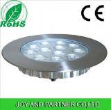 12W acero inoxidable LED Luz de grupo con manguito de plástico (JP948121)