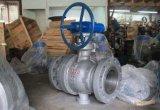 Válvula de esfera fixa de aço forjada padrão do ANSI com extremidade da flange