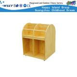 Cabinas de almacenaje de los niños de madera de la historieta de los muebles baratos del jardín de la infancia (M11-08701)