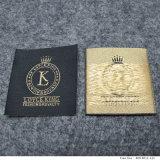 Heet Verkoop Gepersonaliseerd Gouden Kleding Geweven Etiket
