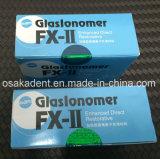 De tand Gc FUJI II van het Cement Ionomer van het Glas Verpakking van HK van het Cement