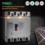 Photovoltaic 4p MCCB Stroomonderbreker van het zonnestelsel 900V 1000V