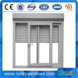 L'alta qualità progetta la finestra per il cliente di vetro di alluminio di scivolamento del blocco per grafici con la zanzara