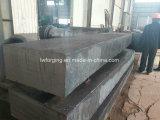 造られたブロック型のツール鋼鉄角形材