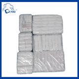 100%年の綿の使い捨て可能で白いタオル(QHAD88945)