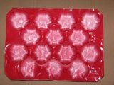 China hizo las bandejas plásticas de la venta por todo el mundo para el empaquetado de la fruta y verdura
