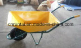 熱い販売法の良質の黄色カラー手押し車(Wb6401)