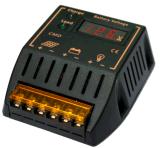 Regulador solar del sistema eléctrico de la batería del regulador de PWM 12V 24V 10A con el voltímetro