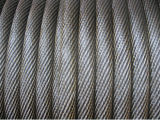 Yellow Grease를 가진 Non-Roating Ungalvanized Steel Wire Rope