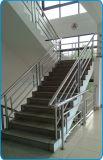 Tubos redondos del acero inoxidable para el pasamano de la escalera