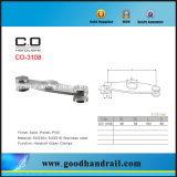Edelstahl-Handlauf-Glasschelle Co-3108