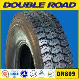 Pneumático radial resistente do caminhão da estrada dobro diagonal do pneumático 1200-24 e câmara de ar interna (12.00R24 20PR)