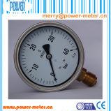 100mm Schwingung-beständiger flüssiger Druckanzeiger der 40 Stab-Reichweite