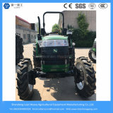 55HP 4WD Bauernhof/landwirtschaftliches/Vertrag/Mini-/Rasen/kleiner/Dieseltraktor mit Paddy-Reifen