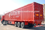 13meters 3-Axle Straight Beam Van Type Semi-Trailer LKW-Schlussteil