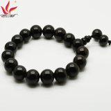 Cabeza perlas brazalete de TMB-022 12mm Moda Buda en Healtch Cuidado turmalina brazalete