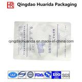 Kundenspezifisches Firmenzeichen gedruckter transparenter flacher verpackenbeutel für chemisches Produkt