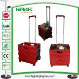 Faltbares Pack und Roll Einkaufswagen Trolley