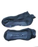 Trampoline (ast-02)のためのスリップ防止Ankle Cotton Sports Socks