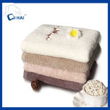 Twistless 100% Cotton Face ricamato Yarn Towel