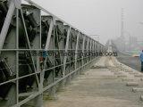 Große Kapazitäts-gebogener Röhrenbandförderer für pulvriges Material