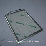 Marco al aire libre/de interior de aluminio LED delgado estupendo Lightbox de los media