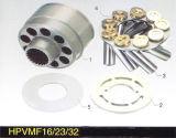 Kubota 45 pièces de rechange hydrauliques de pompe à piston Hpvmf16/23/32 et pièces de réparation
