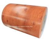 Катушки стального листа PPGI зерна поставкы фабрики имитационные деревянные